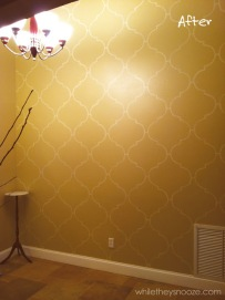 http://www.whiletheysnooze.blogspot.com/2012/07/diy-moroccan-style-wall-stencil.html
