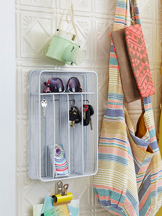Silverware Holder Turned Glass and Key Storage