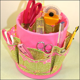 Sewing Kit Caddy Can