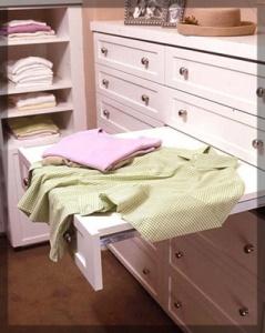 ironing shelf