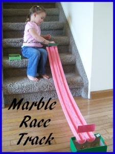 Marble Track Race