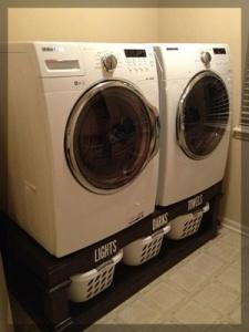 under washer dryer